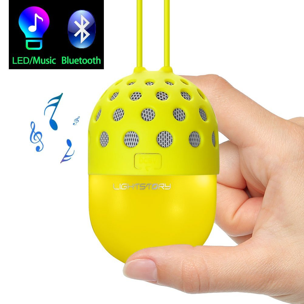 Lightstory Mini Bluetooth Speaker, Yellow