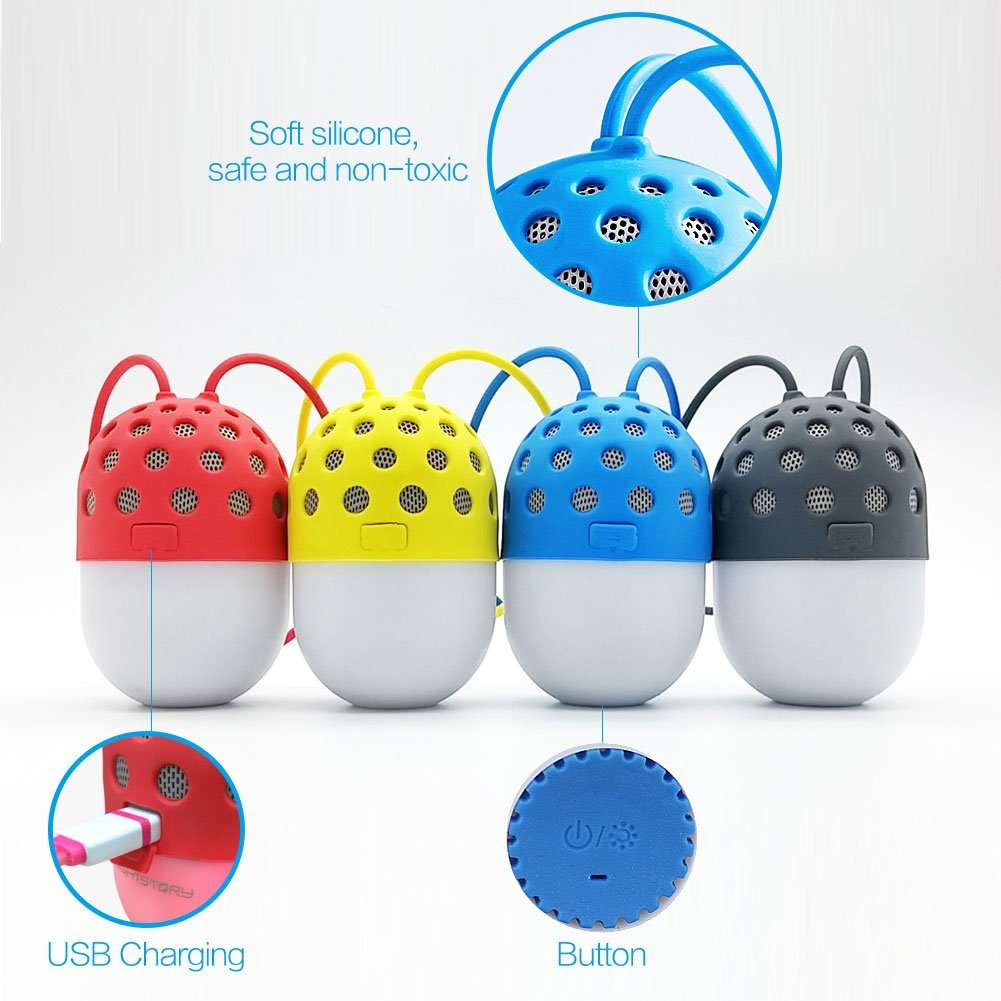 Lightstory Mini Bluetooth Speaker, Blue