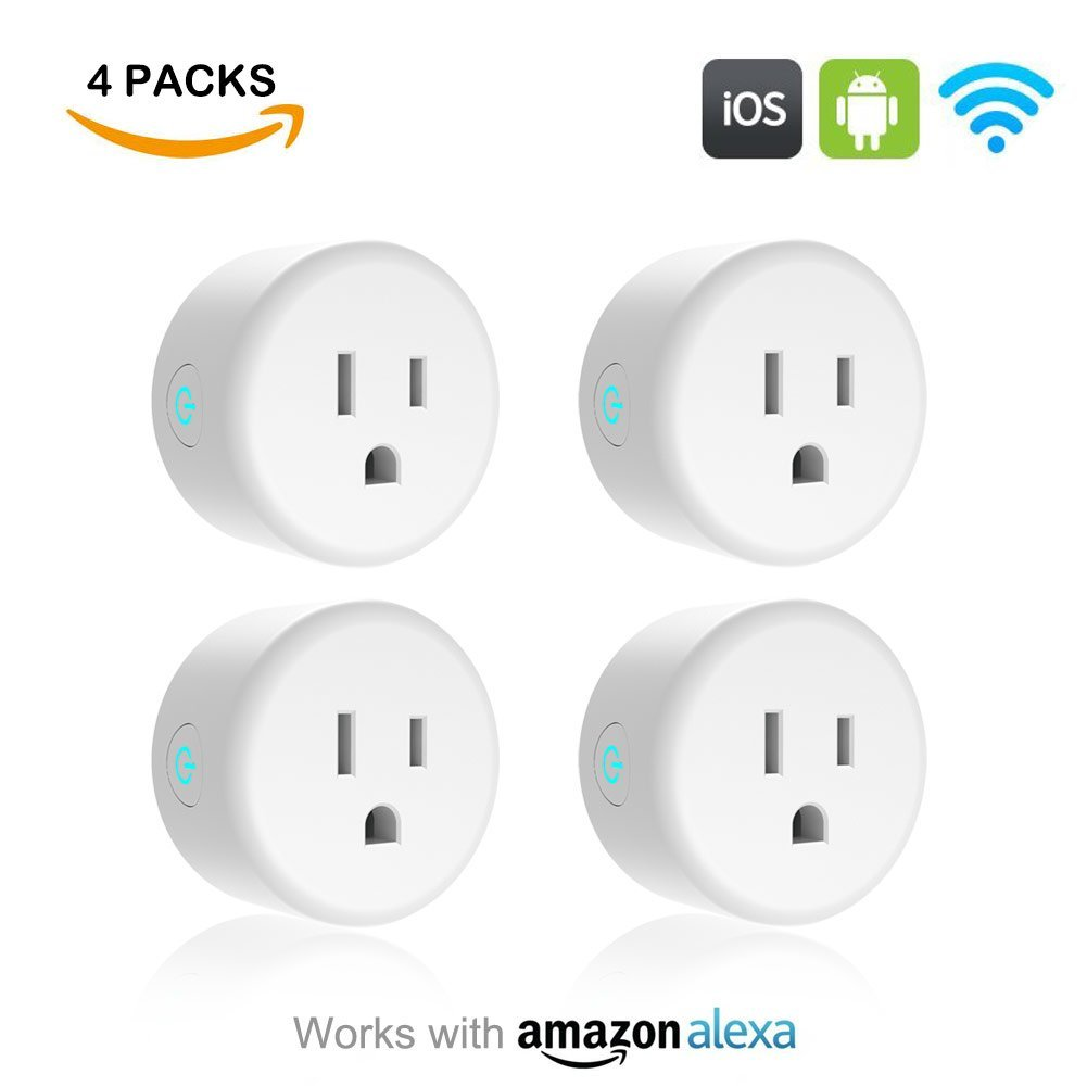 Lightstory Mini Smart Plug, 4Pack