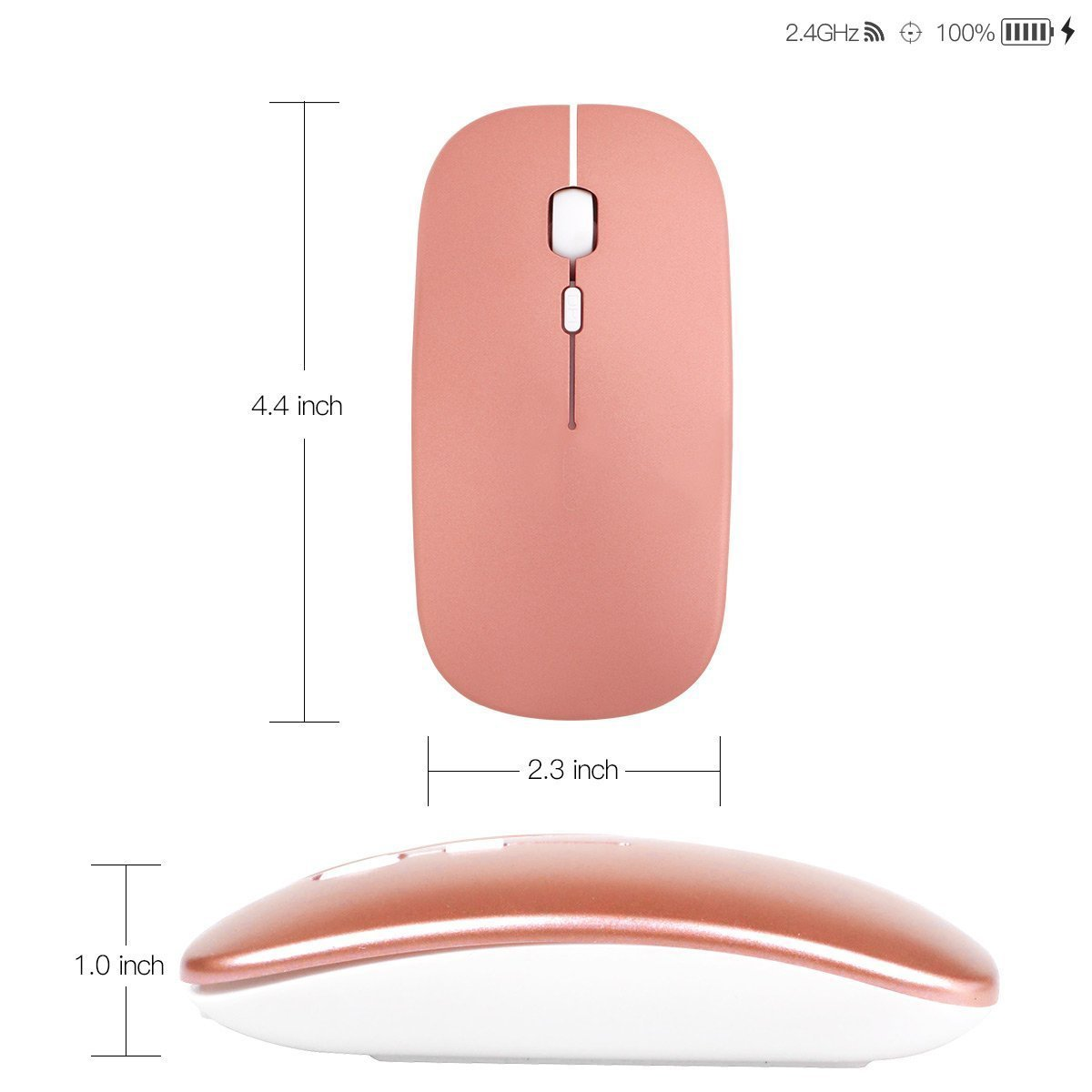 Lightstory Rechargeable Wireless Mouse