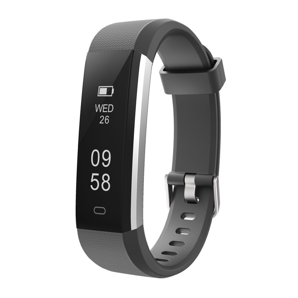 Slim Fitness Tracker with Step Counter Watch
