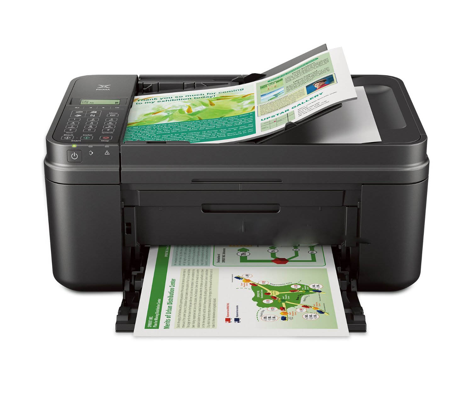Wireless All-IN-One Small Printer with Mobile or Tablet Printing